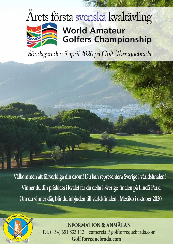 WAGC Sverige 2020 Golf Torrequebrada